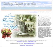 Wedding Chapel By The Sea Myrtle Beach Sc