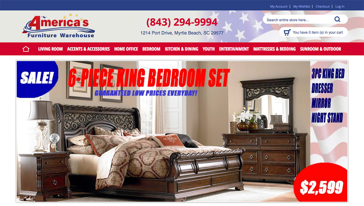 Ashley Furniture Store Barefoot Landing, Capris Furniture Store Barefoot  Landing, Serta Mattress Store Barefoot Landing